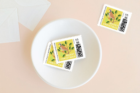 12 Days of Christmas Holiday Stamps