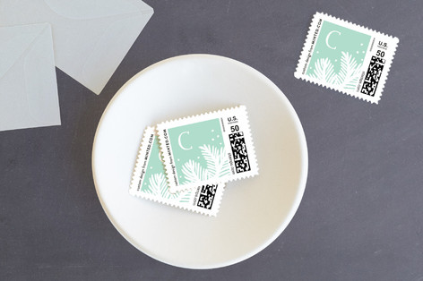Nordic Snow Holiday Stamps