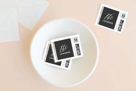 Elegant Year Holiday Stamps