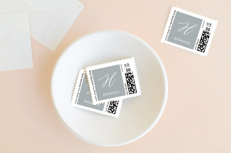 Peacefully Scripted Holiday Stamps
