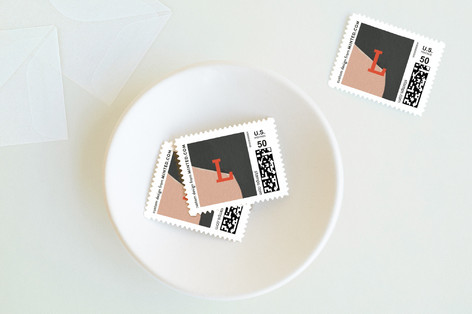 Dancing Frame Holiday Stamps