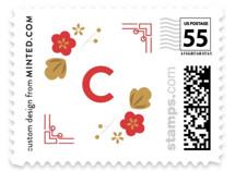 Botanical Papercut Pig by curiouszhi design
