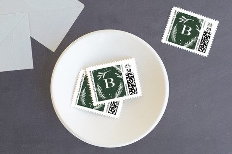Jesus Lord at thy birth Holiday Stamps
