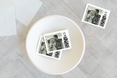 Merriest Xmas Holiday Stamps