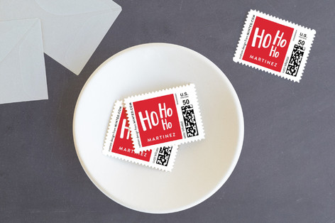 Ho Ho uh Oh Holiday Stamps