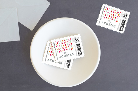 Holiday Burst Holiday Stamps
