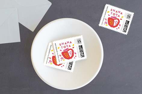 Playful Pom Holiday Stamps