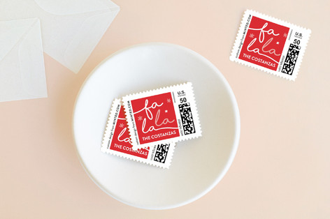 peppermint song Holiday Stamps