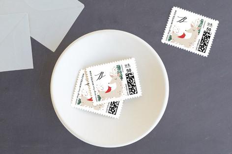 Woodland Joy Holiday Stamps