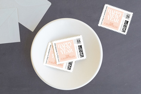 Soft And Bold Holiday Stamps