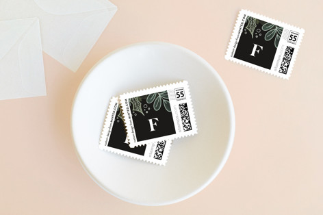 Garden Of Peace Holiday Stamps