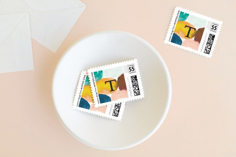 Cheers glow Holiday Stamps