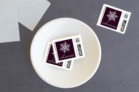 Winter Snows Holiday Stamps