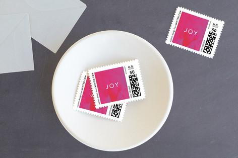 Oversized Joy Holiday Stamps