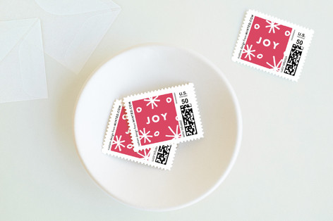modern & joy Holiday Stamps