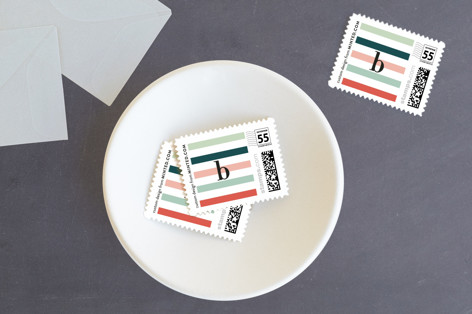 Colorfully blessed Holiday Stamps