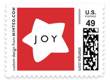 Shapes Tree Holiday Stamps