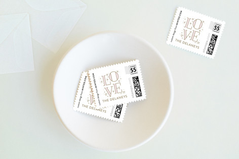 Be Ours Holiday Stamps