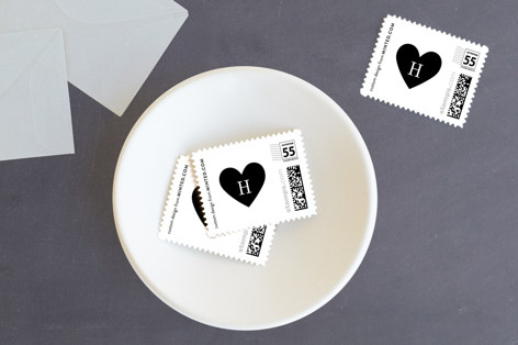 Heart of Gold Holiday Stamps