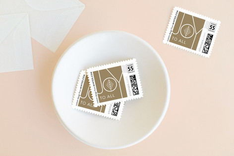 Shimmer Joy Holiday Stamps