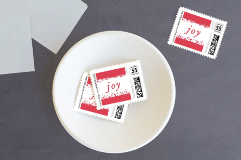 Glittering Edge Holiday Stamps
