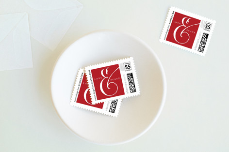 Ampersand Holiday Stamps