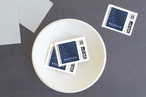 Sparkle and Rejoice Holiday Stamps