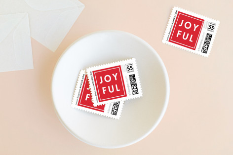 More Joy Holiday Stamps