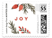 Pine + Berries Border by Wildfield Paper Co.