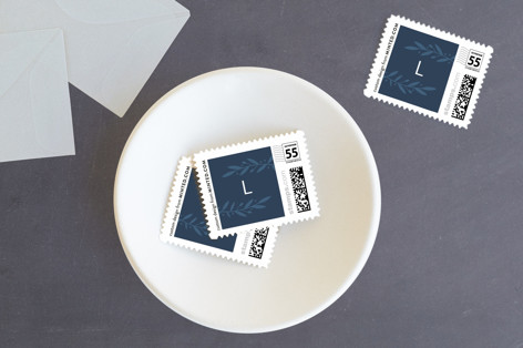 Laurel Cross Holiday Stamps