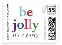 Be Jolly Holiday Stamps