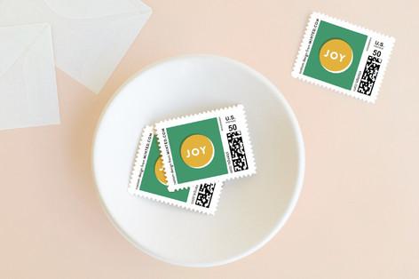Joy Dot Holiday Stamps