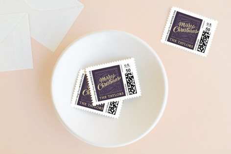 Let Earth Receive Her King Holiday Stamps