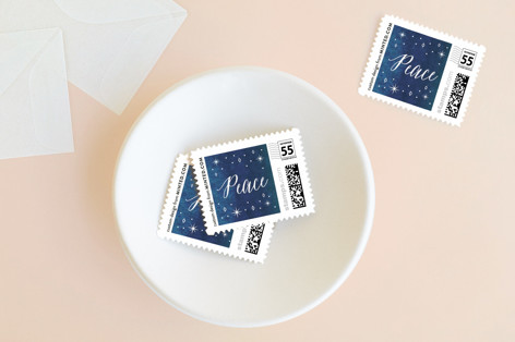Heavenly Peace Holiday Stamps