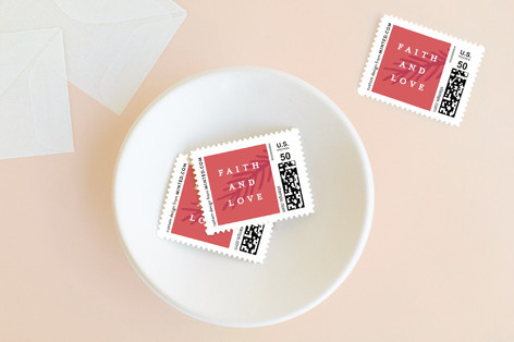 Faith and Love Holiday Stamps