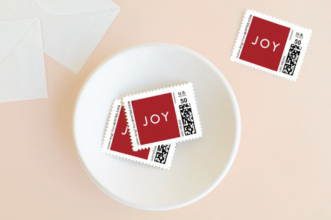 The Sounding Joy Holiday Stamps