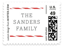 Year in Review Holiday Stamps