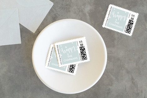 Laughing All the Way Holiday Stamps