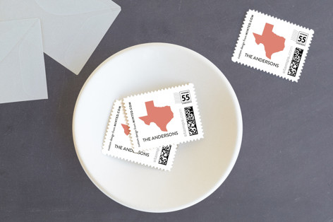 Love Location Holiday Stamps