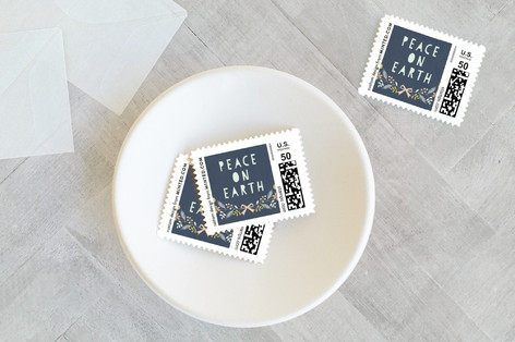 Nordic Peace Dove Holiday Stamps