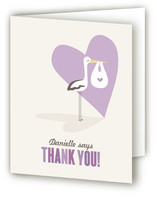 Sweet Delivery Baby Shower Thank You Cards
