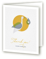 Via Stork Baby Shower Thank You Cards