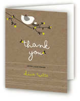Nesting Bird Baby Shower Thank You Cards