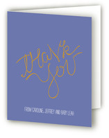 Written on Her Heart Baby Shower Thank You Cards
