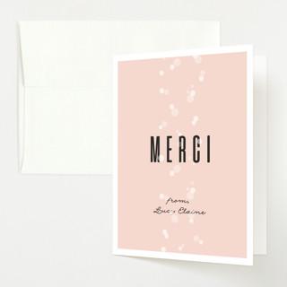 Rosé Et Bébé Baby Shower Thank You Cards
