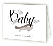 Windy Day Baby Shower Thank You Cards