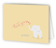 Baby Elephant Baby Shower Thank You Cards