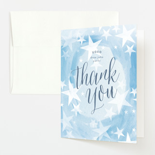 You are Ours Baby Shower Thank You Cards
