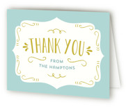 Baby Brewing Baby Shower Thank You Cards