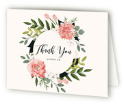 Summer Shower Baby Shower Thank You Cards